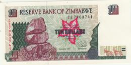 Ten Dollars Zimbabwe 1997 Fds - Zimbabwe