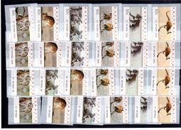 Australien Australia  Atm Frama Cps Vignettes Vending Labels 4  Diferent Series  St Peters ** Mint