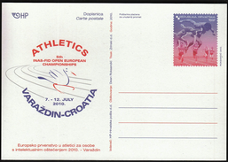 Croatia 2010 / Athletics European Championship / Postal Stationery