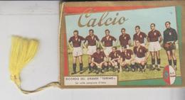 Calendarietto Da Barbiere Calcio Soccer Football Torino / Juventus / Palermo/napoli/ Inter/bologna/ Milan / Bari/  Gg - Calendriers