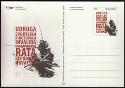 Croatia 2011 / Fishing Associatioa Of Disabled Persons Of Croatian Homeland War / Postal Stationery
