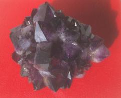 Minerali - Cristalli - Ametista - Gruppo Di Cristalli - Minerali