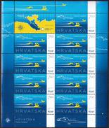 Croatia 2013 / Swimming / Faros Marathon / Sport / Mint Sheet
