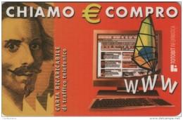 *ITALIA: ALBACOM - CHIAMO & COMPRO* - Scheda NUOVA - Italia