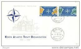 ITALY  1959  NATO  FDC