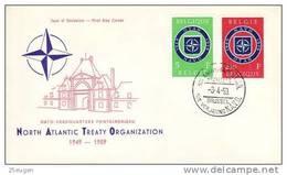 BELGIUM NATO  1959   FDC /zx/