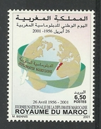 MOROCCO  2001 NATIONAL DIPLOMACY DAY MNH - Marokko (1956-...)