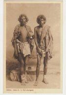 INDIA - ABORIGINAL TYPES - ITALIAN EDITION -1930s ( 866 ) - Ansichtskarten