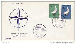 TURKEY  1972 NATO  FDC