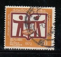 Sri Lanka 1972 International Book Year - Used
