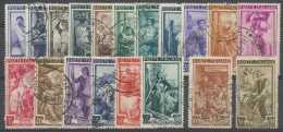 Italie 1950, N° 572/90, Artisanat, Petits Métiers, SC (19 Valeurs) Dont TB Obl