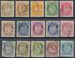 Norvège 1910-20, N° 69/83, Voir Scan, SC