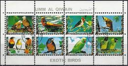 Umm Al-Qiwain 1972 - Tropical Birds ( Mi 1258/65A - YT Xxx )