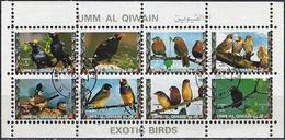 Umm Al-Qiwain 1972 - Tropical Birds ( Mi 1426/33 - YT Xxx )