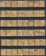 80pf X 48, Shades / Paper Varities,  'Deutsches Reich' Used 1928 Hindenburg Deutschland Germany