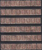 50pf X  48, Shades / Paper Varities,  'Deutsches Reich' Used 1928  Hindenburg Deutschland Germany