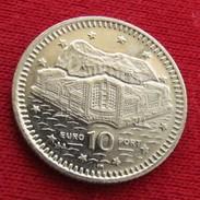 Gibraltar 10 Pence 2001 AA KM# 776 Gibilterra - Gibraltar