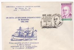 COVER GRIGORE ANTIPA -A CENTURY EXPLORATION IN ROMANIA 1893-1993 Oceanology