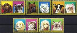 Umm Al-Qiwain 1972 - Cats & Dogs ( Mi 662A... - YT Xxx )