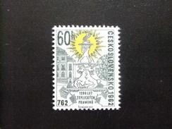 CHECOSLOVAQUIA TCHÉCOSLOVAQUIE 1962 CIUDAD De TEPLICE Yvert 1222 ** MNH