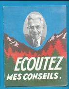Livret Publicitaire Dépuratif Des Alpes 1962 + Indicatif De Tarif En N.F. - Advertising