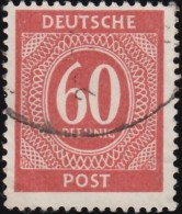 GERMANY - Scott #552 Nuemral (*) / Used Stamp - American,British And Russian Zone