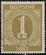 GERMANY - Scott #556 Nuemral (*) / Used Stamp - American,British And Russian Zone