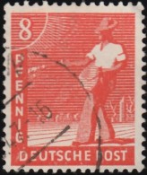 GERMANY - Scott #559 Sower (*) / Used Stamp - American,British And Russian Zone