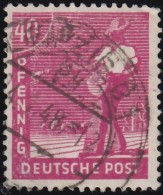 GERMANY - Scott #568 Sower (*) / Used Stamp - American,British And Russian Zone