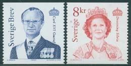Sweden 2000 King & Queen 2v, (Mint NH), History - Kings & Queens