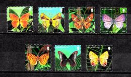 Montserrat 1303-1318 Definitive Part Set Butterflies Used Vf (( CV 4.00 - Montserrat