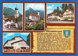 Deutschland; Oberammergau; Multibildkarte - Oberammergau