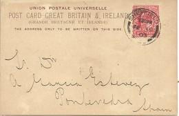 POST CARD SHEFFIELD 1903  SCANER