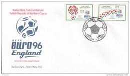 FUSSBALL-FOOTBALL-SOCCER- CALCIO, TURKEY, 1996, Special Stamp + Postmark !!