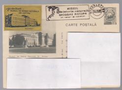 POST CARD GRIGORE ANTIPA -MUSEUM HISTORY GR.ANTIPA BUCAREST-CIRCULATED