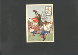Footbal WC 1970 Maxi-card Of USSR