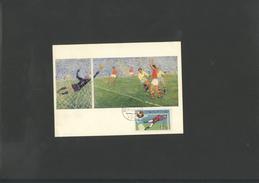 Footbal WC 1970 Maxi-card Of Czechoslovakia