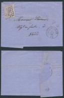 AK227 Lettre De La Louvière à Gand 1869 - Bélgica