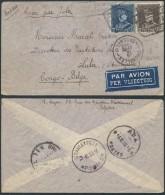 AK230 Lettre Expres De Bruxelles à Lula Congo 1933 Trouvé à La Boite