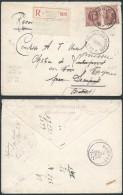 AK253 Lettre Recommandée De Bruxelles 10 à Sempst 1923