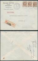 AK255 Lettre Recommandée De Mouscron à Courtrai 1927