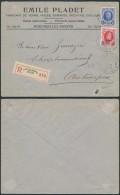 AK256 Lettre Recommandée Fabriquant De Vernis De Anvers 6 En Ville 1929-5cent