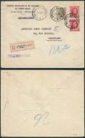 AK257 Lettre Recommandée Elevage Du Congo Bruxelles 9 En Ville 1930