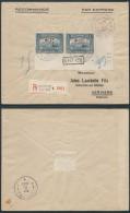 AK260 Lettre Recommandée Expres De Ostende 1 à Verviers 1920 DEPOT 1918 + 1FR X2