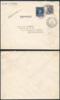 AK261 Lettre Expres De Bruxelles Nord à Fontaine L'Eveque 1931