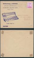 AK262 Lettre Illustrée Outillages De Bruxelles En Ville 1968 - Bélgica