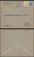 AK264 Lettre Privée De Bruxelles à Essen 1927