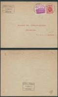 AK269 Lettre Privée De Mons à Nibe Denmark 1931