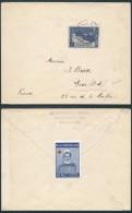 AK270 Lettre De Bruxelles à Nice France 1927 + Vignette
