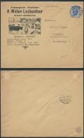 AK272 Lettre Illustrée Fromagerie De Trembleur à Diekirch Luxembourg 1932